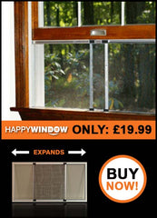 Happy Window Adjustable Fly Screen for Sash Windows