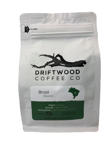 Driftwood Coffee , Brazil , Ground 12 oz