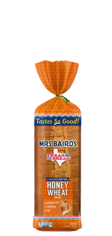 Mrs Baird's Large Honey Wheat Bread (20 oz)