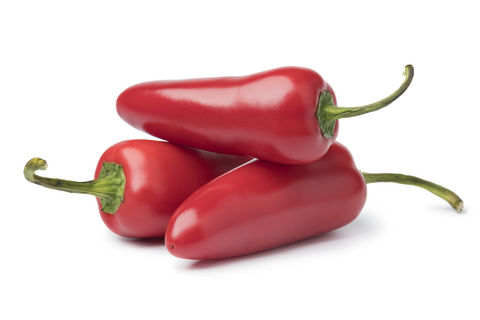 Fresh Red Jalapeno Pepper (Per lb)(PEPRJP)