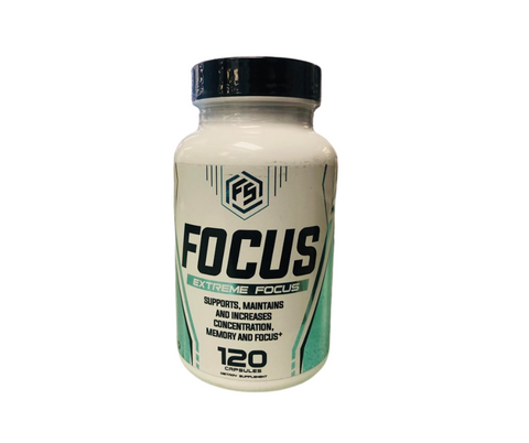Extreme Focus Supplements (120 capsules)