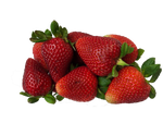 Fresh Organic Strawberries 1 lb Clamshell