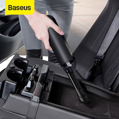 Baseus A2 Car Vacuum Cleaner Mini Handheld Auto Vacuum Cleaner with 5000Pa Powerful Suction For Home & Car & Office - Above_Savvy