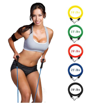 11PCS Resistance Band Set - Above_Savvy