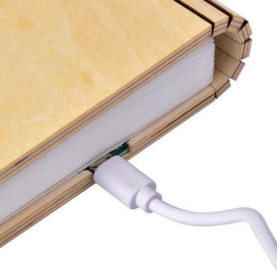 Desk Decor Folding Book Light
