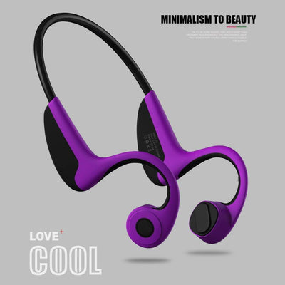 Bone Conduction Wireless Headphone - Above_Savvy