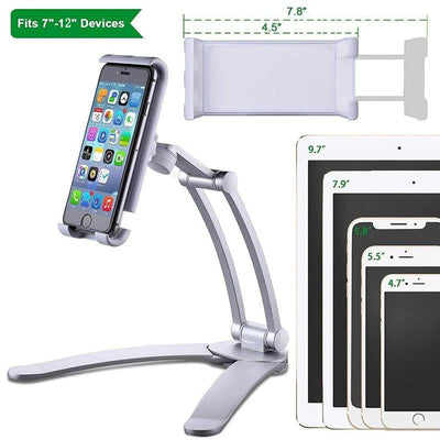 Kitchen Metal Tablet and Smartphone Holder