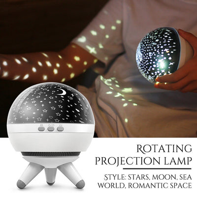 Romantic Planetarium Star Celestial Projector Night Sky Lamp Home Decor Celestial Star Astro Sky Cosmos Night Light Bedroom Home - Above_Savvy