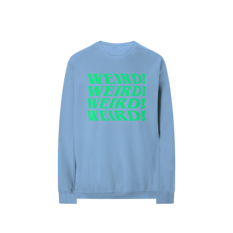 Blue Weird! Crewneck + Digital Album