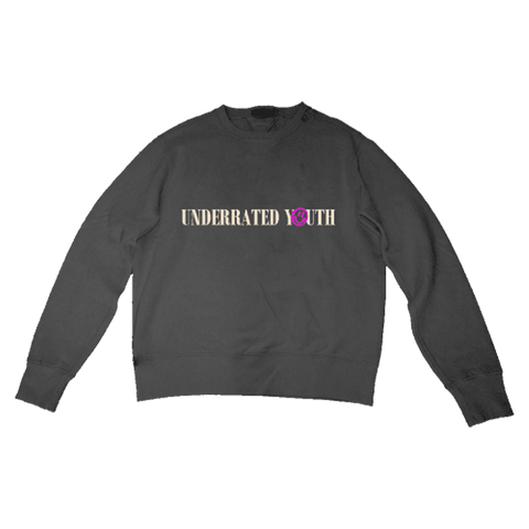 Black Crewneck + Digital Album