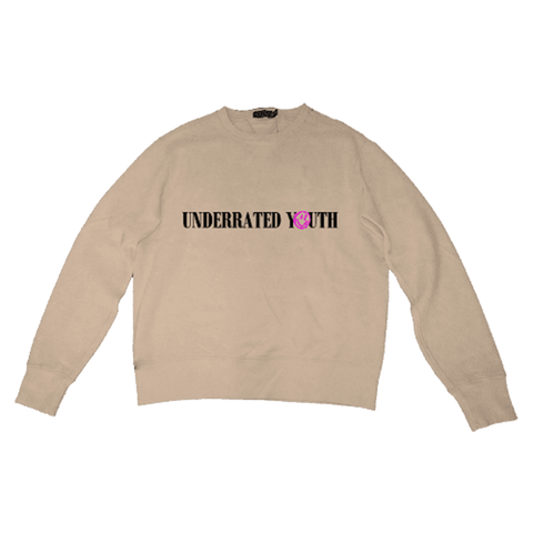 Tan Crewneck + Digital Album