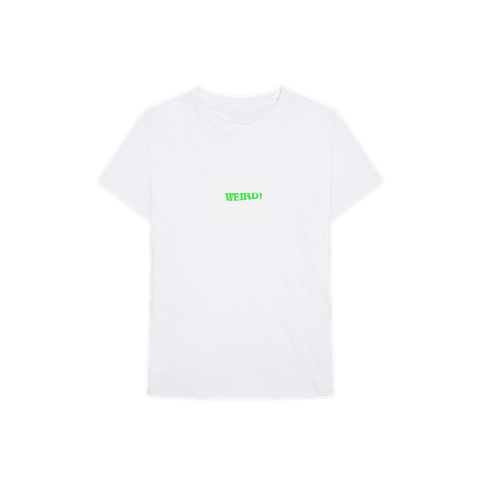 Weird! Green Text T-Shirt + Digital Album