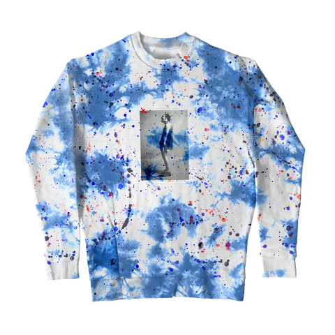 WEIRD! PAINT SPLATTER LONG SLEEVE T-SHIRT