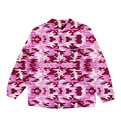 Pink Camo Heartbreak Windbreaker +  Digital Album