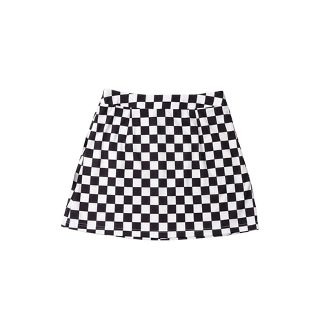 Checkered Skirt + Digital Album