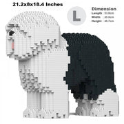 Old English Sheepdog Building Kit
