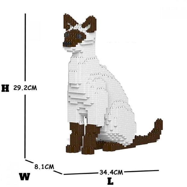 Siamese cat Building Kit