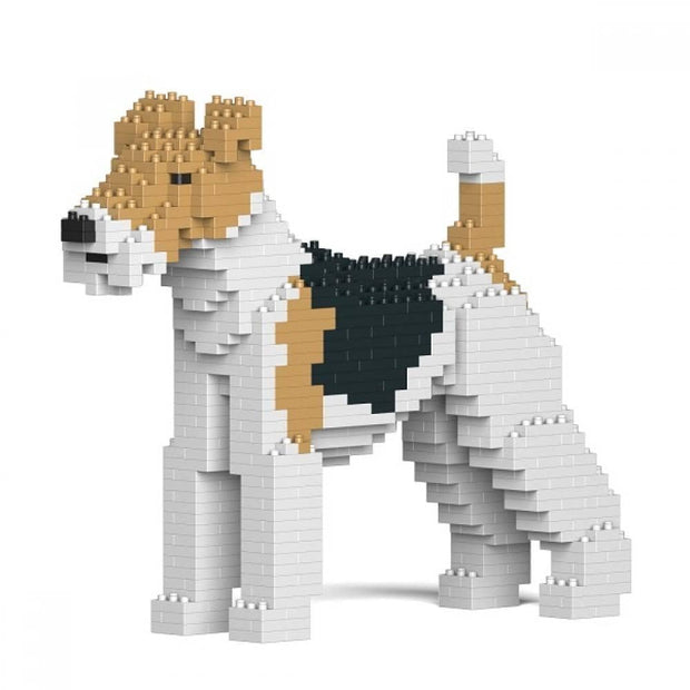 Wire Haired Fox Terrier Building Kit