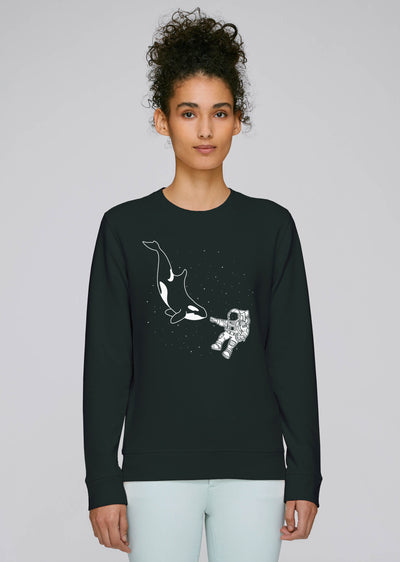 Astronaut Orca Sweatshirt - All Everything Dolphin