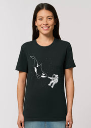 Orca Astronaut T-Shirt - All Everything Dolphin