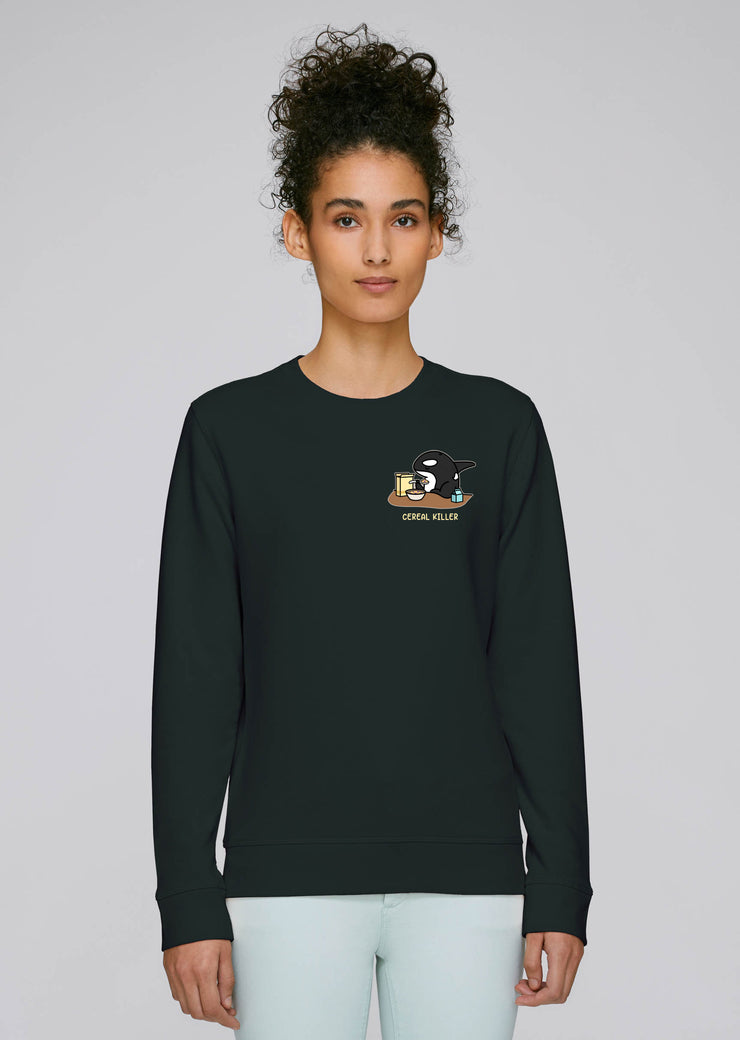 Cereal Killer Sweatshirt Black - All Everything Dolphin