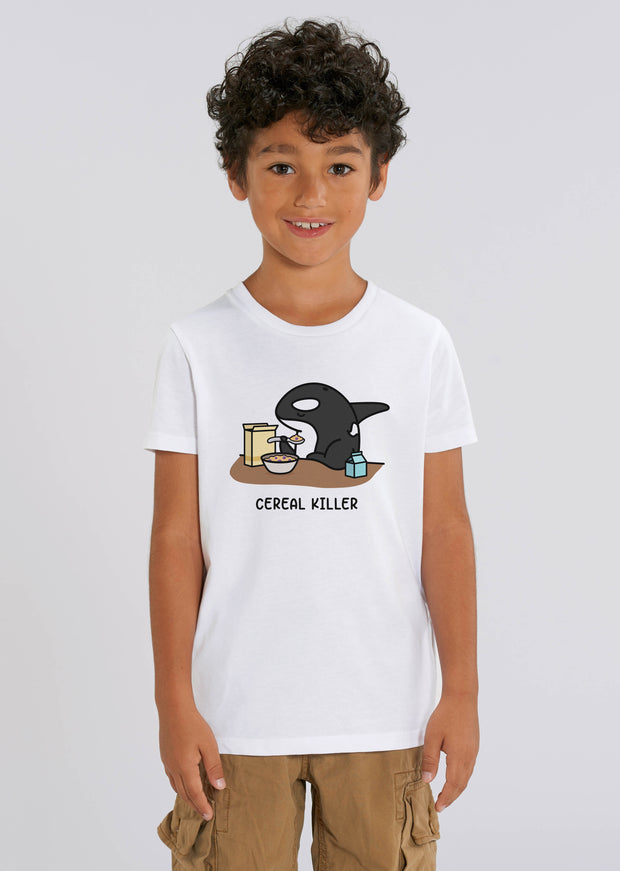 Cereal Killer Kids T-Shirt - All Everything Dolphin