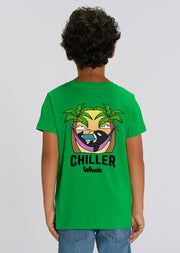 Chiller Whale Palm Trees Kids T-Shirt - All Everything Dolphin