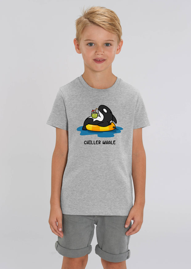 Chiller Whale Kids T-Shirt - All Everything Dolphin