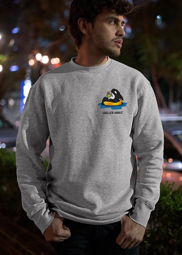 Chiller Whale Sweatshirt - All Everything Dolphin