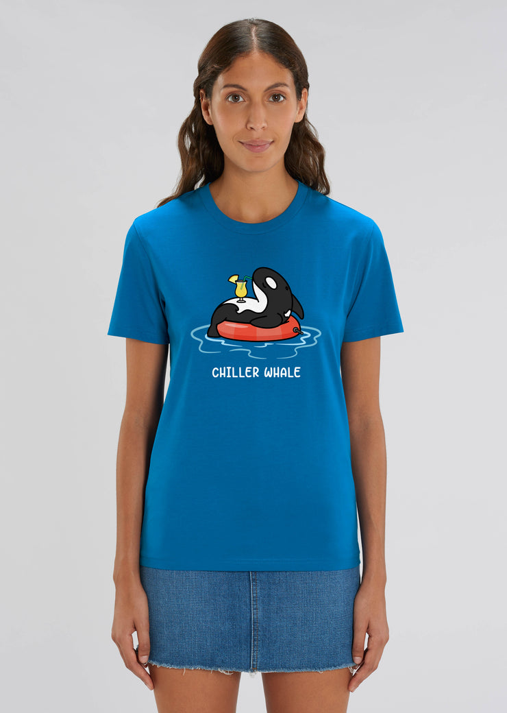 Chiller Whale T-Shirt Blue - All Everything Dolphin