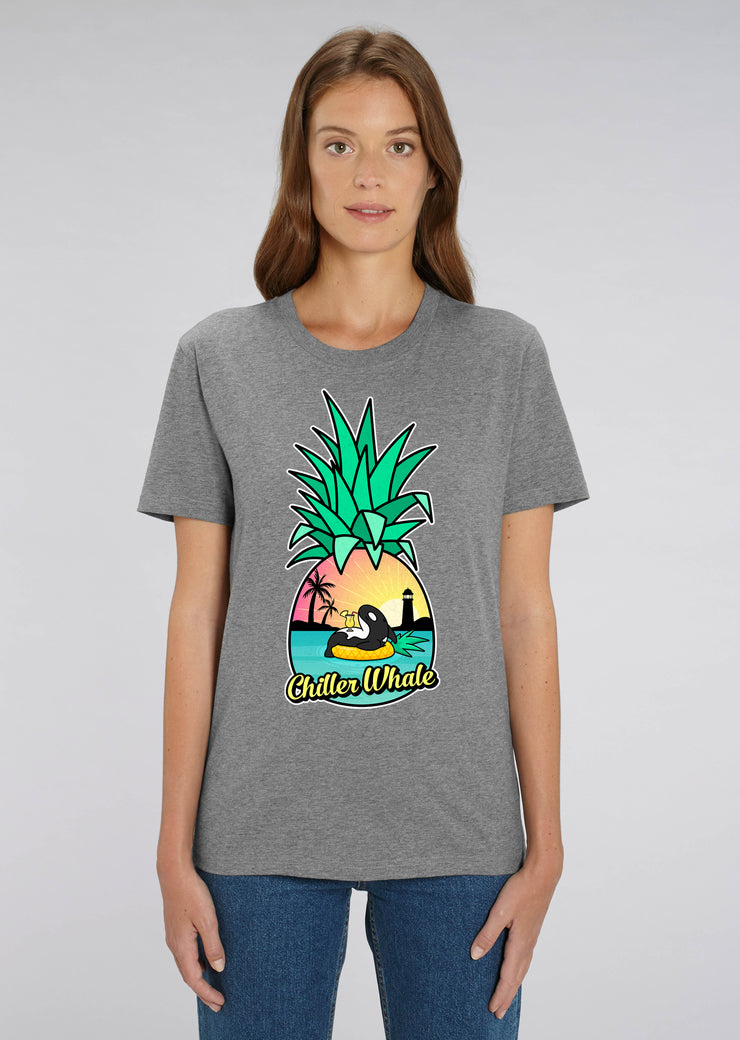 Chiller Whale Pineapple T-Shirt - All Everything Dolphin