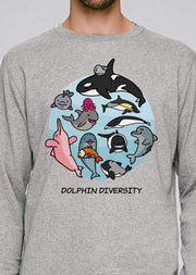 Dolphin Diversity Sweatshirt - All Everything Dolphin
