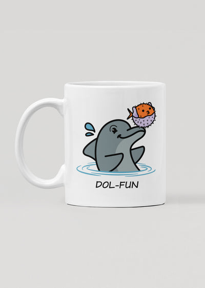 Dol-fun Mug - All Everything Dolphin