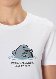 Hug It Out Dolphin T-Shirt - All Everything Dolphin