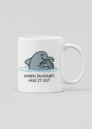 Hug It Out Dolphin Mug - All Everything Dolphin
