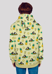 Pineapple Orca Hoodie - All Everything Dolphin