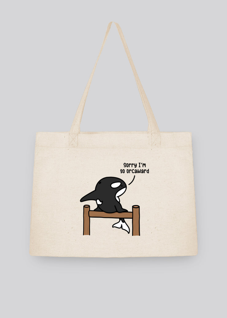Orcaward Shopping Tote Bag - All Everything Dolphin