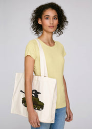 I Don't Belong In A Tank Shopping Tote Bag - All Everything Dolphin