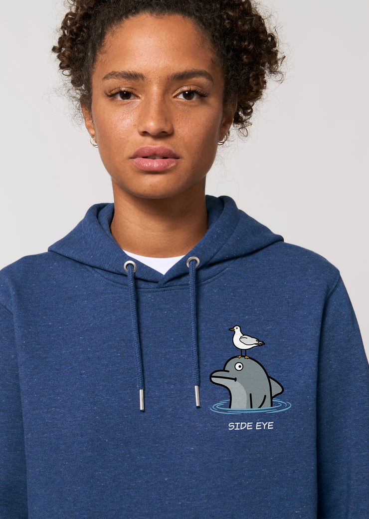 Side Eye Hoodie - All Everything Dolphin