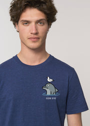 Side Eye T-Shirt - All Everything Dolphin