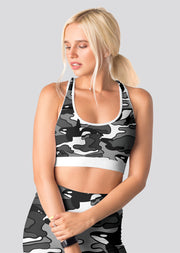 Camo Orca Sports Bra - All Everything Dolphin