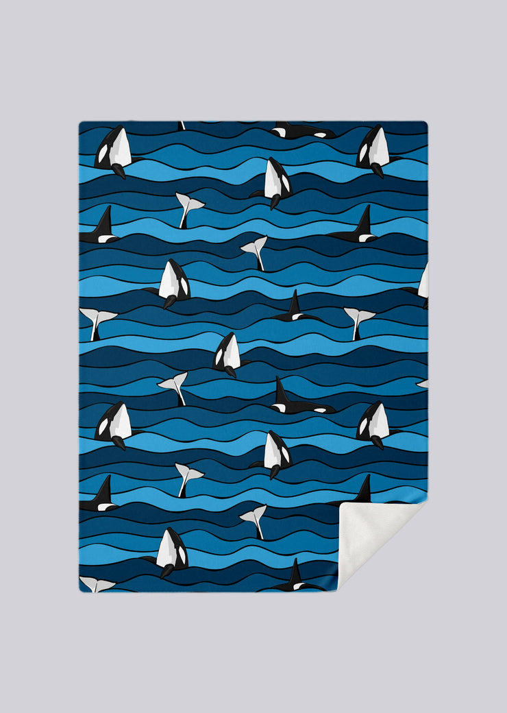 Ocean Orca Blanket - All Everything Dolphin
