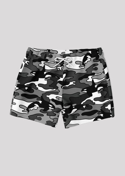 Camo Orca Swim Trunks - All Everything Dolphin