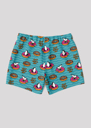 Donut Kill My Vibe Swim Trunks - All Everything Dolphin