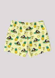 Pineapple Orca Swim Trunks - All Everything Dolphin