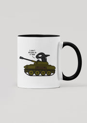 I Don't Belong In A Tank Orca Mug - All Everything Dolphin