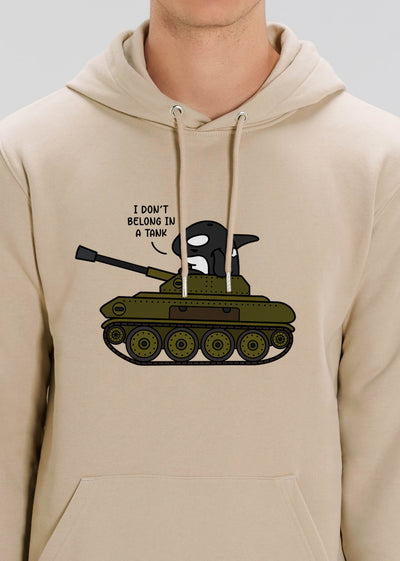 I Don't Belong In A Tank Orca Hoodie - All Everything Dolphin
