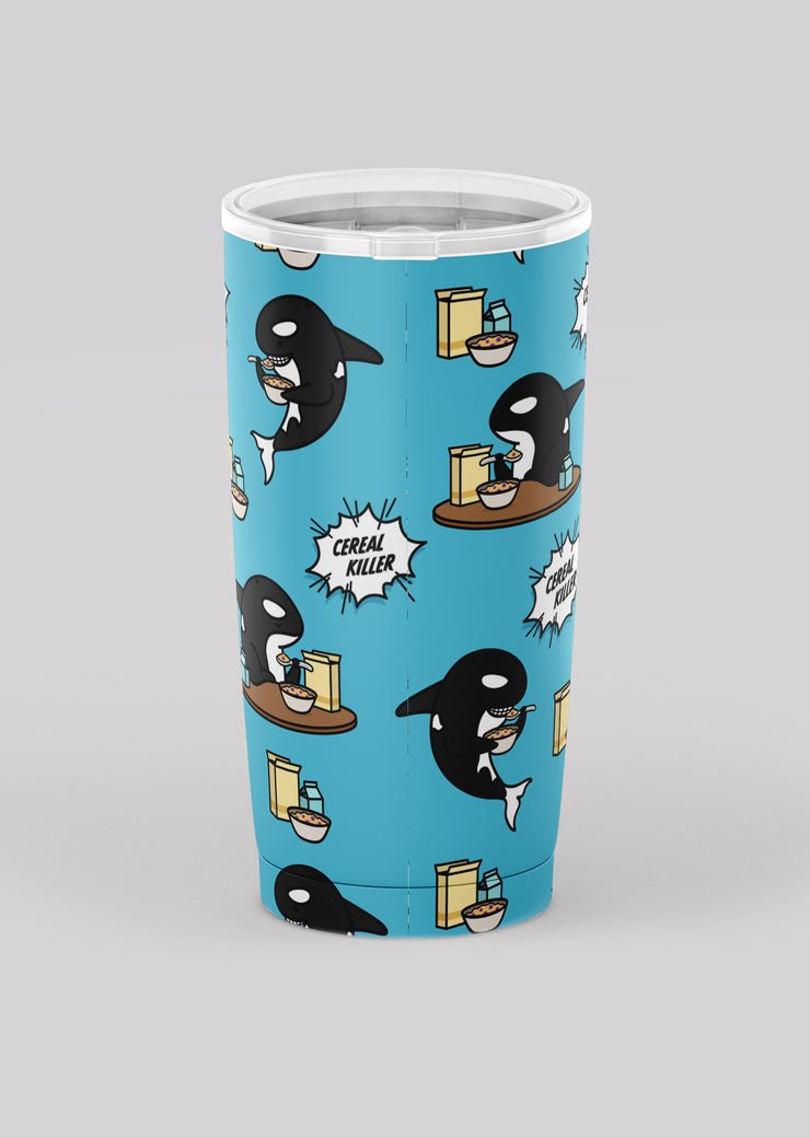 Cereal Killer Tumbler - All Everything Dolphin