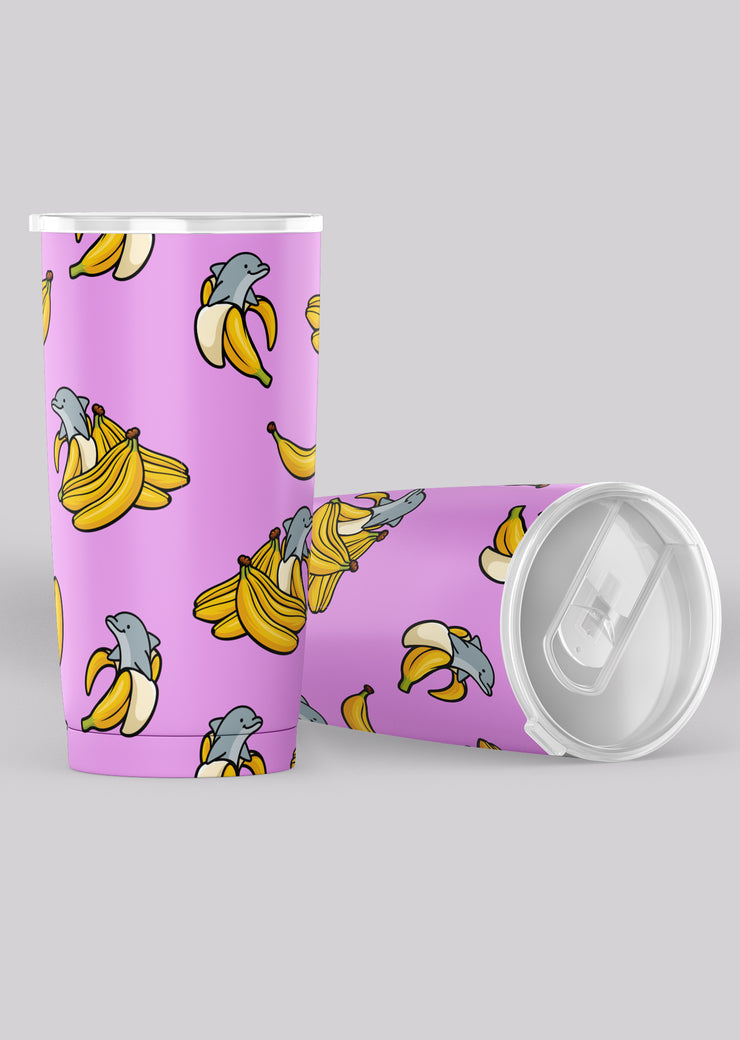 Banolphin Purple Tumbler - All Everything Dolphin