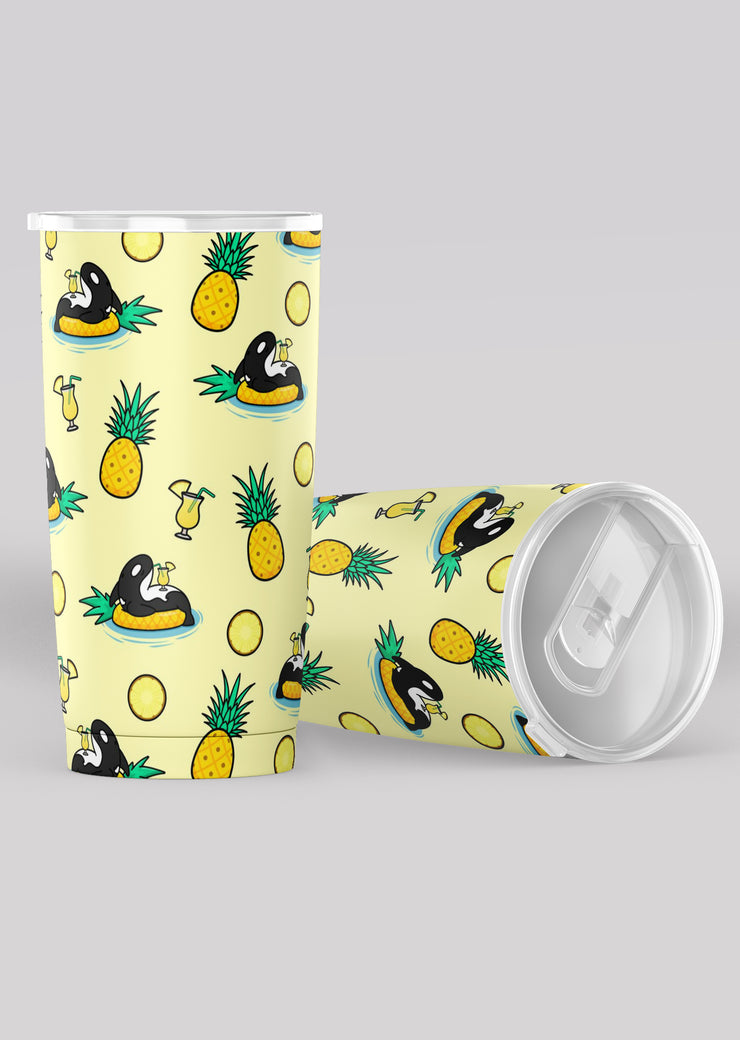 Pineapple Orca Tumbler - All Everything Dolphin
